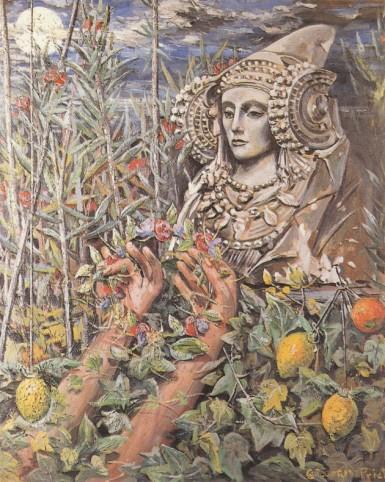 La Dama de Elche, por Gregorio Prieto